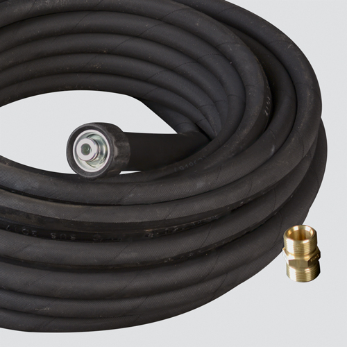 "3/8"" x 25' 4000 PSI Pressure Washer Hose Assembly — Female Metric x Female Metric"