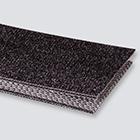 2-Ply 100# Polyester Monofilament Black PVC Bare x Bare Whisper Weave Antistatic