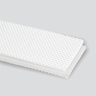 2-Ply 100# Polyester Monofilament White PVC Quad Cover x Bare Anti-Static