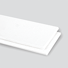 2-Ply 100# Polyester White RMV Cover x Friction