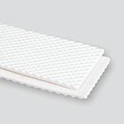 2-Ply 100# Polyester White RMV Pebbletop Cover x Friction