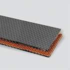 2-Ply 150# Polyester Gray EPDM Teflon® Cover x Bare