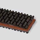 2-Ply 150# Polyester Black SBR Steep-grade x Bare