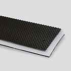 2-Ply 100# Polyester Monofilament Black PVC Quad Top x Bare