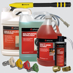 Pressure Washer Accessories - Chemicals, Brush, Adapters, Spray Tips