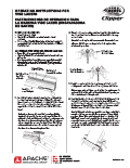 Clipper Vise Lacer Instructions