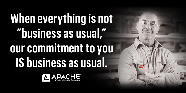"When everything is not ""business as usual,"" our commitment to you IS business as usual."