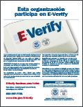 E-Verify Spanish Poster
